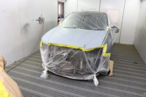 NV Panel and Paint Canberra and Queanbeyan Spray Booth